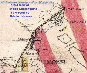Cooloon - 1894 map ...murrabah mounds of stones