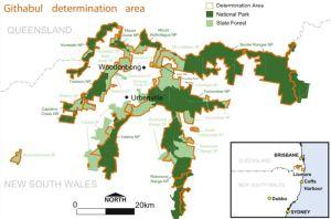 Githabul determination area