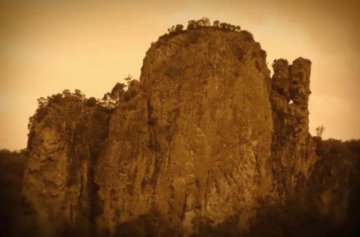 Nimbin Rocks - sepia
