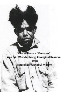 Stan Williams - Duroom - age 34 - Woodenbong - Tindale