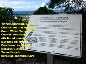 Tweed Shire NSW Signage - Razorback