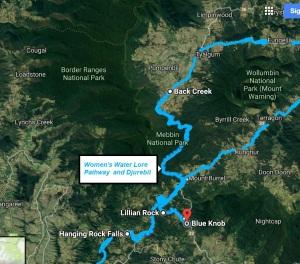 womens pathway , tweed valley - encircling Yar-birrain